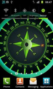Easy Compass Live Wallpaper