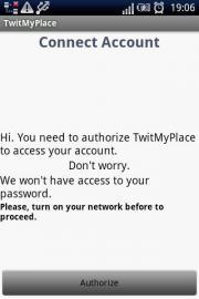 TwitMyPlace
