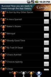 Trophies 4 Resident Evil:ORC