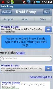 Droid Proxy