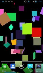 Falling Squares