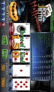 Halloween Video Poker