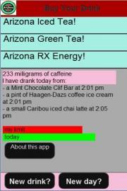 Caffeine Monitor for Pregnancy