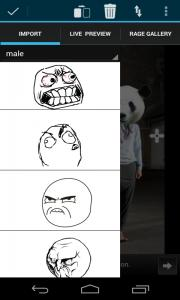 Rage Face Photo