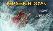 Santa's Red Sleigh Down