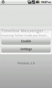 Timeline Messenger