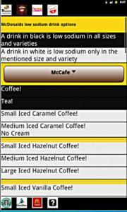 Low Sodium Coffee Options