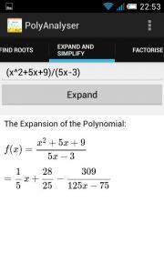 PolyAnalyser