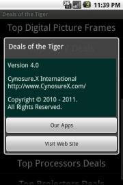 Deals of the Tiger