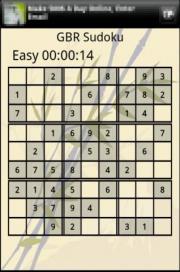 GBR Sudoku