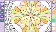 De-stress Mandala Painting