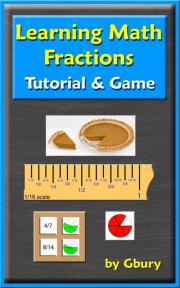 Learning Math Fractions Tutorial and Game