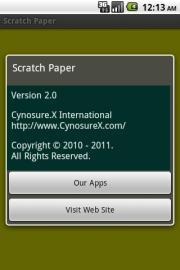 Scratch Paper