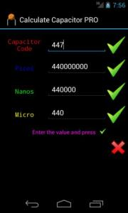 Calculate Capacitor PRO