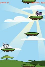 Easter Bunny Drop Egg Hunt