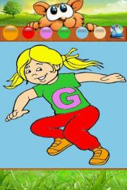 Alphabet ABC Coloring