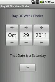 Day Of The Week Finder