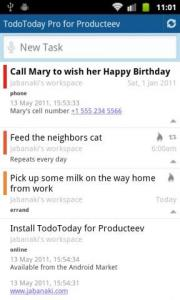 TodoToday Pro for Producteev
