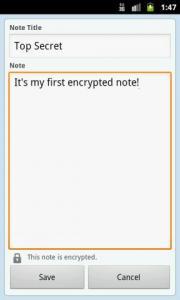 Clear Note Widget