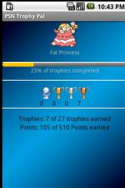 PSN Trophy Pal