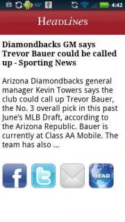 Arizona Baseball News