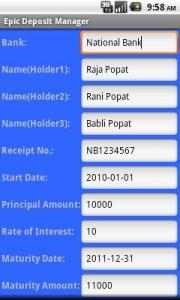 Epic Deposit Manager