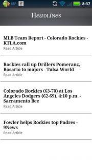 Colorado Baseball News