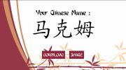 My Chinese Name