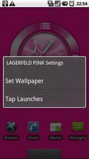 LAGERFELD PINK