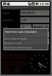 RT Rate Loan Calculator (Free)