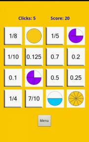 Decimals and Fractions Game