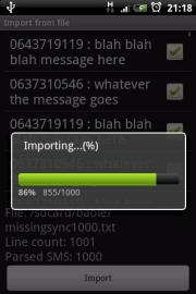 SMS Migrator