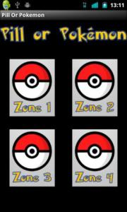 Pill Or Pokemon