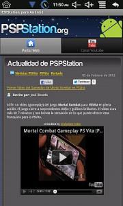 PSPStation para Android