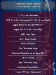 Christmas Carol Songbook