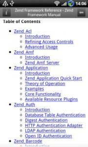 Zend Framework Reference