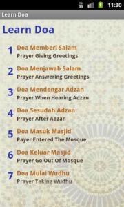 Learn Doa