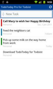 TodoToday Pro for Todoist