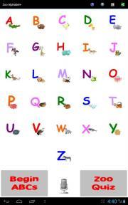 Zoo Alphabet+