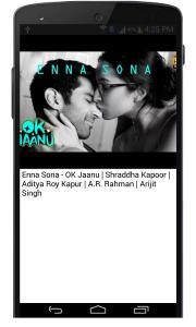 Ok Jaanu Hindi Movie Songs
