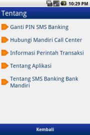 Mandiri SMS Banking (Unofficial)